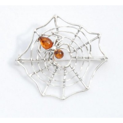 /294-482-thickbox/silver-amber-spider-on-a-web-broach.jpg