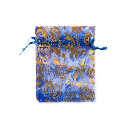 /375-567-thickbox/blue-organza-bag-with-roses.jpg