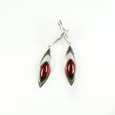 /520-728-thickbox/silver-framed-amber-earrings-cherry.jpg