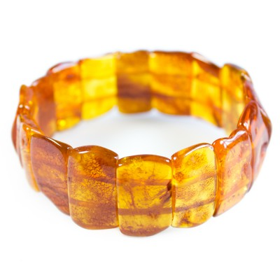/662-888-thickbox/wide-amber-stretch-bracelet-cognac.jpg