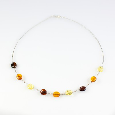 /675-914-thickbox/multicolor-amber-necklace-on-steel-wire-beads.jpg