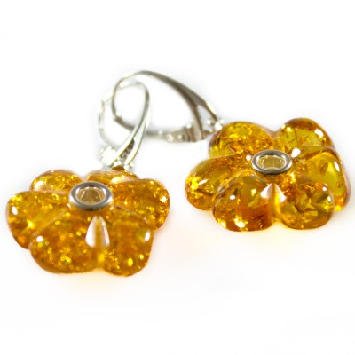 /696-959-thickbox/amber-cognac-daisy-earrings.jpg